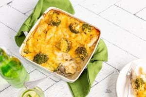 Cheesy Broccoli & Chicken Pasta Bake, Carbery Cracker, Cheese recipes, family recipes, simple family meals, quick and easy dinners