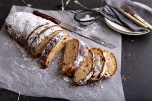 Firehouse Christmas Stollen, Patrick Ryan Bread recipes, I Love Cooking Bread recipes