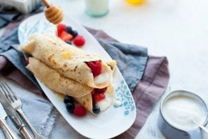 Mixed Berry Pancakes - I Love Cooking