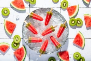 Watermelon Kiwi Ice Pops, kids recipes, ice pops, i love cooking kids recipes, learn to cook