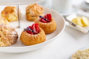 Lemon & Lavender Drizzle Cakes, Shane Smith, Afternoon tea Recipes, i Love Cooking Cakes