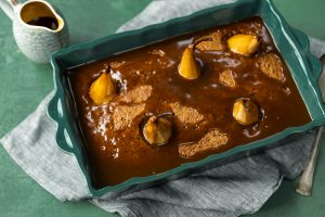 Sticky Toffee Pear Pudding, Aoife Noonan